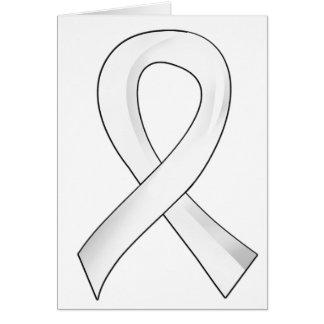 Awareness Ribbon 3 Emphysema Cards