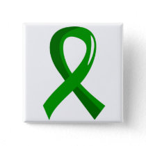 Awareness Ribbon 3 Traumatic Brain Injury TBI Pinback Button