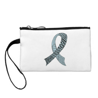 Awareness Ribbon Any Color Mix and Match Change Purse