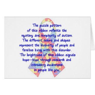 Awareness Ribbon Card