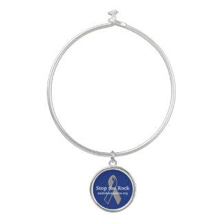 Awareness Ribbon Charm Bracelet