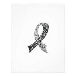 Awareness Ribbon Custom Colors Letterhead