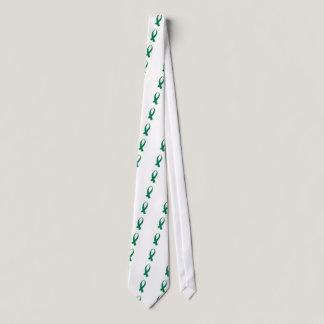 Awareness Ribbon (Green) Neck Tie