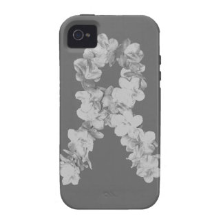 Awareness Ribbon In Gray/Silver Case-Mate iPhone 4 Case