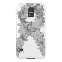Awareness Ribbon In Gray/Silver Case For Galaxy S5
