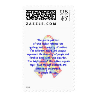 Awareness Ribbon Postage
