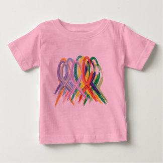 Awareness Ribbons Baby T-Shirt