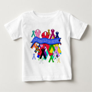 Awareness Ribbons for Universal Health Care Baby T-Shirt