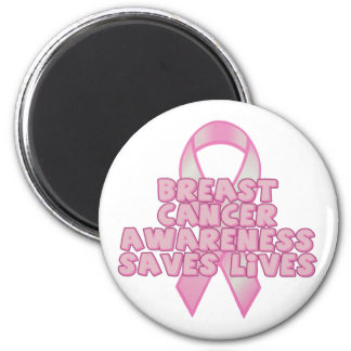 Awareness Saves Lives 2 Inch Round Magnet