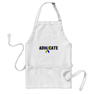 Awareness tee advocate adult apron