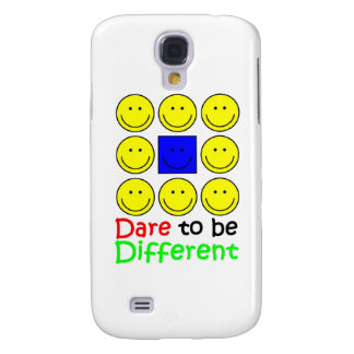 Awareness tee Dare to be Different copy Samsung Galaxy S4 Cases