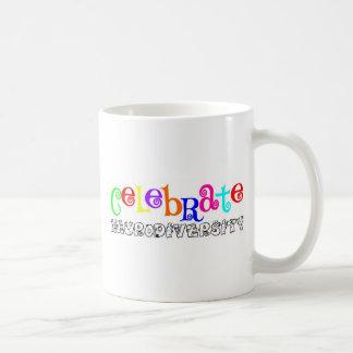 Awareness tee neurodiversity classic white coffee mug