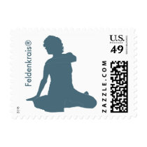 Awareness Through Movement Stamp: Sitting Postage