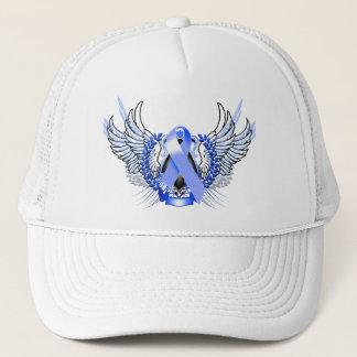 Awareness Tribal Blue Trucker Hat