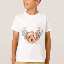 Awareness Tribal Orange T-Shirt