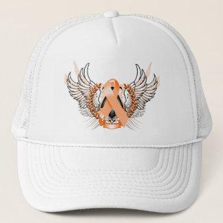 Awareness Tribal Orange Trucker Hat