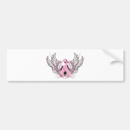 Awareness Tribal Pink Bumper Sticker