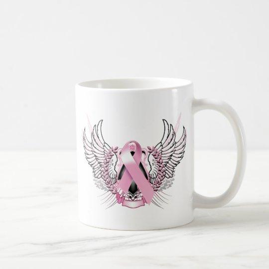 Awareness Tribal Pink Coffee Mug