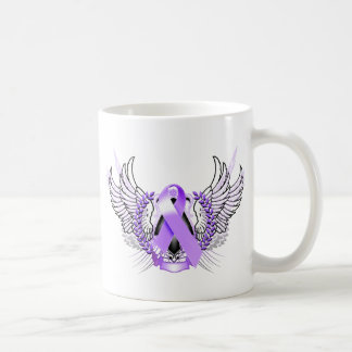 Awareness Tribal Purple Coffee Mug