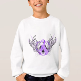 Awareness Tribal Purple Sweatshirt