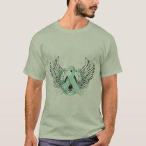 Awareness Tribal Teal T-Shirt