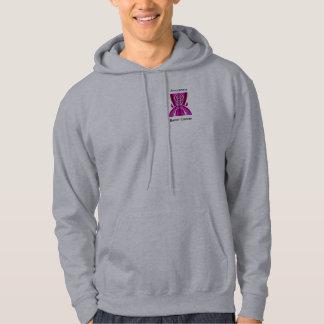 Awareness Womens Hooded Sweatshirt