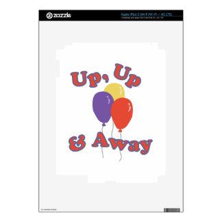 Away Balloons Decal For iPad 3
