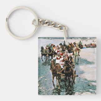 Away Bride Keychain