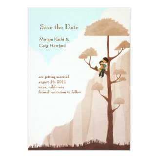 Away from it all - Save the Date Card
