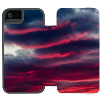 away from our window wallet case for iPhone SE/5/5s