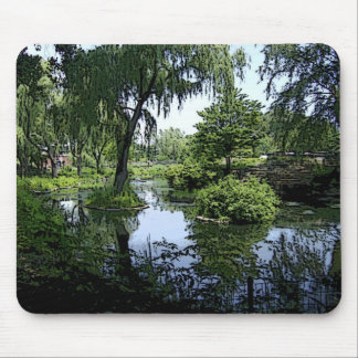 Away from the City Mouse Pad