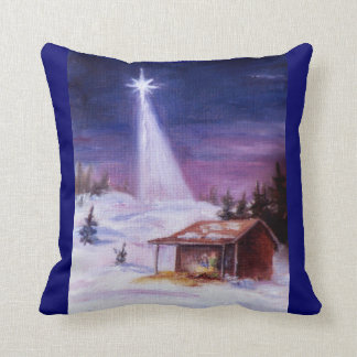 Away In a Manger American MoJo Pillows