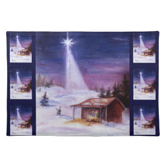 Away In A Manger American MoJo Placemats