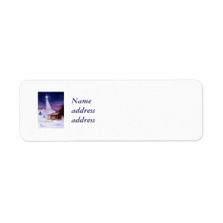 Away In a Manger Avery Return Address Labels