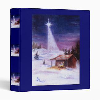 Away In a Manger Binder