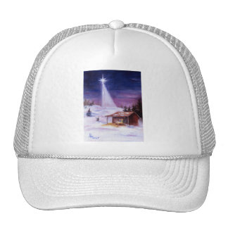 Away In a Manger Cap Hats