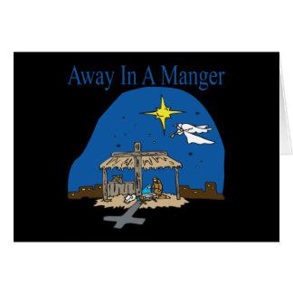 Away In A Manger Card