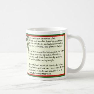 Away in a Manger Christmas Mug