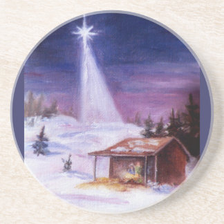 Away In a Manger Coaster