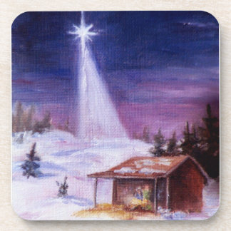 Away In a Manger Coasters