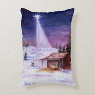 Away in a Manger Decorative Pillow