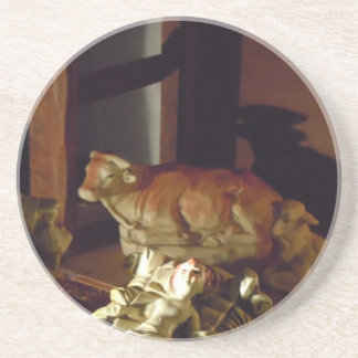 Away in a Manger Drink Coaster