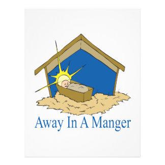 Away In A Manger Custom Flyer