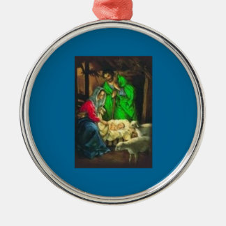 Away In A Manger Holiday Tree Ornament