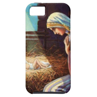 Away in a Manger iPhone SE/5/5s Case