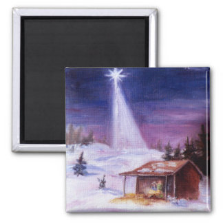 Away In a Manger Magnet