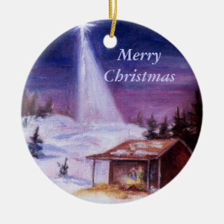 Away In a Manger, Merry Christmas Ornaments