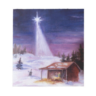Away In a Manger Notepad