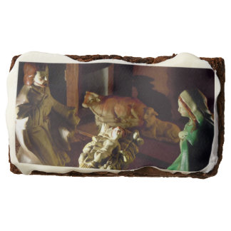 AWAY IN A MANGER BROWNIE