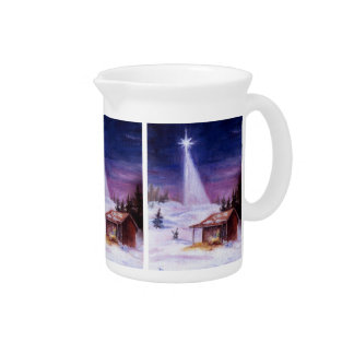 Away In a Manger Pitcher
